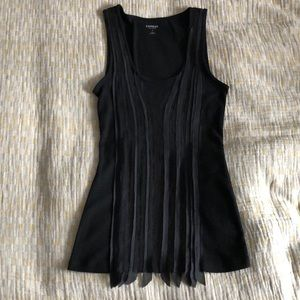 EUC Express mesh and sequin tank, size S